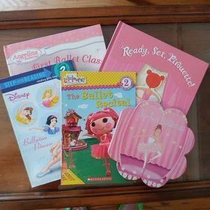 Firm Price! Girl's Ballerina Books Qty 5